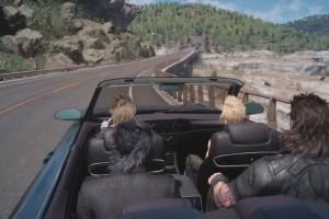 ffxv car gameplay