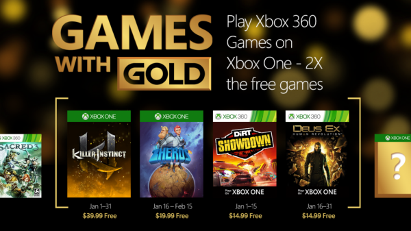 2016 01 Enero Games With Gold