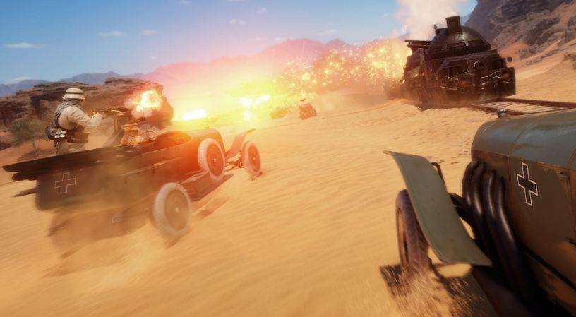 battlefield 1 - desert